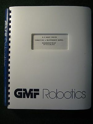 Fanuc R-G Robot Series Connecting & Maintenance Manual GMF Robotics