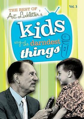 NEW-- Art Linkletter's Kids Say the Darndest  Things - Volume 3 (DVD)