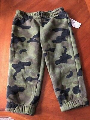 JOE BOXER Boy's (12) Months Green Camouflage Pants New With Tags