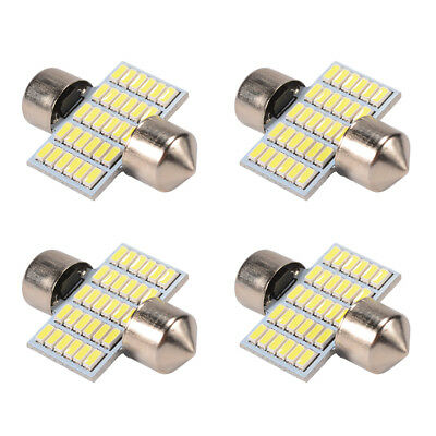 4x 31mm 3014 SMD LED Soffitte Lampe Innenraumbeleuchtung für 12V Auto MA1117