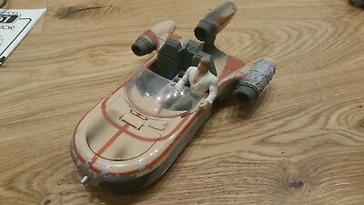 Star Wars Episode IV ANH Luke´s Landspeeder mit Luke Skywalker - TOP