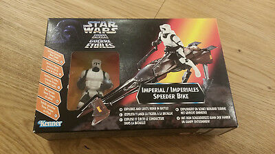 Star Wars Episode VI - Imperial Speeder Bike with Scout Trooper Neu + OVP