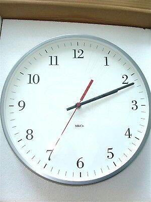 M&co Bodoni Wall Clock - Perfect & Sold Out!!