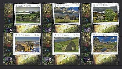 Isle Of Man 2018 Manx Tholtans Set Of 6  Unmounted Mint, Mnh
