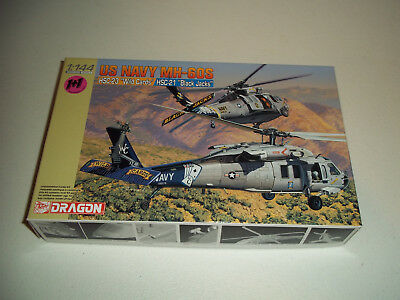 Dragon Us Navy Mh-60S 1/144 4616 Mib New