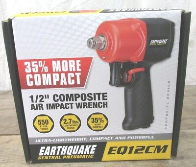"Central Pneumatic Earthquake 1/2"" Air Impact Wrench EQ12CM"