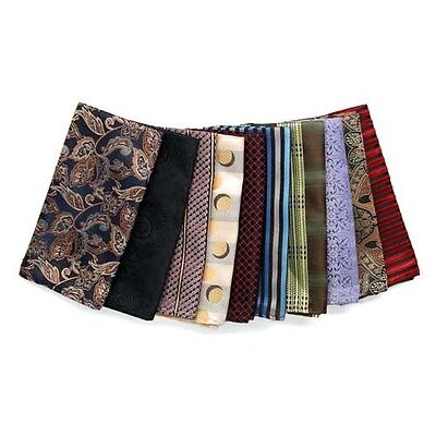 Pack of 10 Assorted Handkerchief Pocket Squares, On SALE $7.99!!!