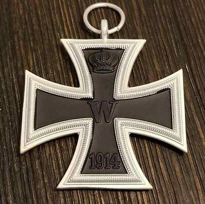 WW1 WWI Imperial German EK2 IRON CROSS 1914 1813 Pinback