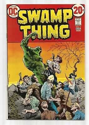 Swamp Thing 5 Wrightson HIGH GRADE VF/NM Bronze Age Horror