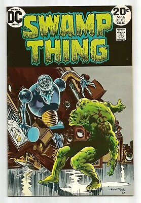 Swamp Thing 6 Wrightson HIGH GRADE VF Bronze Age Horror