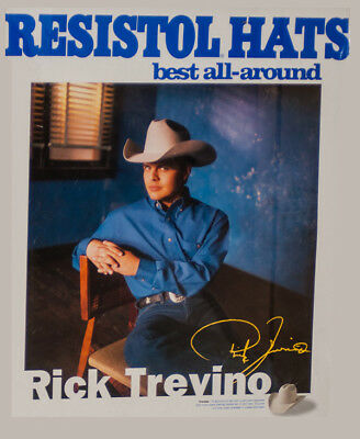 RODEO POSTER - Country Music Star, Rick Trevino, PRCA POSTER