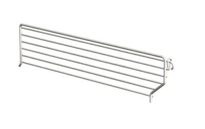 Lozier Wire Bin Divider 3 In. H X 22 In. White 20 / Box Pack of 20