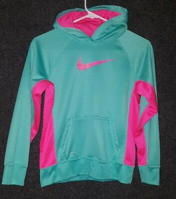 girls Nike hoodie size L therma fit