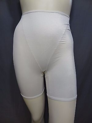 Playtex long leg high waist Brief Firm Control Shaper smooth underwear size L