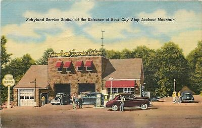 Pettway Oil Company Coupon~City Services Gas Station @ Rock City TN Fairyland