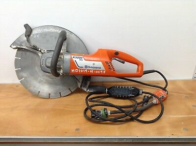 "Husqvarna K3000 Wet Electric Power Cutter 14"" Blade Concrete Saw Cutoff Chainsaw"
