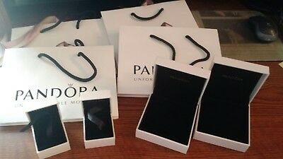 Pandora gift bags and boxes - Never used