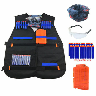 NEW Tactical Vest Kit for Nerf Elite Series Kids Gift Fast Shipping