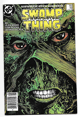 Swamp Thing #49 VF cameo 1st Justice League Dark
