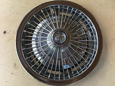 "1967 1968 Chevrolet Chevy Wire Wheel Cover Hubcap Hub Cap 14 Inch Oem ""l@@k""!!!"