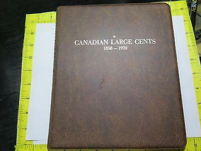 Canada Large Cent Victoria George Edward Album 1858-1920 Old Coin Collection Lot