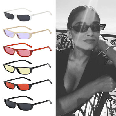 Women Ladies Girls Rectangle Retro Vintage Style Sunglasses Eye Glasses Eyewear