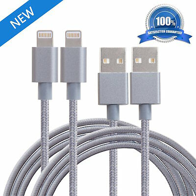 NEW Nylon Braided Tangle-Free Lightning Cable
