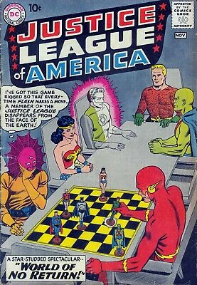 Justice League Of America #1 (1960) Photocopy Comic Book - Dc Comics