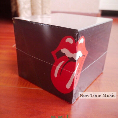 "CD The Rolling Stones ""1971-2005"" 14 CD Box Set Studio Albums free shipping"
