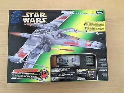 STAR WARS Luke Skywalker's Red Five X-Wing Fighter - OVP -  selten!!!