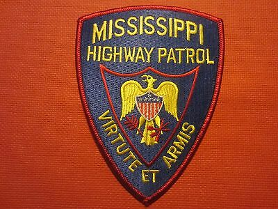Collectible Mississippi Highway Patrol Patch New