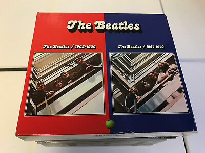 The Beatles 1962-1966 The Beatle 1967-1970 4 CD BLUE RED COMBINED EX/EX