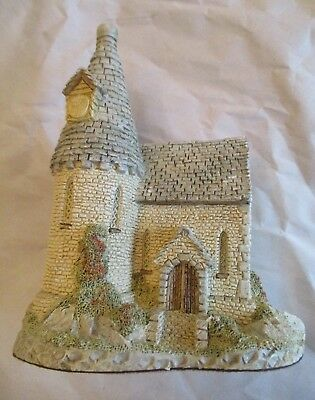 David Winter ~ 1984 ~ The Chapel ~ Signed, Dated, Hand Made & Painted ~ EUC