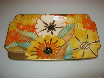 Stunning Art Deco Grays Pottery Porcelain Dish