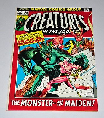 Creatures On The Loose 20 HIGH GRADE NM- 9.2 Bronze Age Horror
