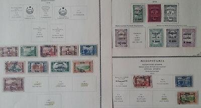 """Lot of Mespotamia Old Stamps Used/MH """"Stamps Only"""""""