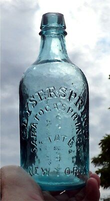GEYSER SPRING SARATOGA SPRING CO.STATE OF NEW YORK Mineral Water MintAqua Pint