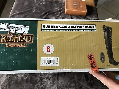 Redhead Rubber Cleat Hip Wading Boot - Boys Size 6/Women's Size 8