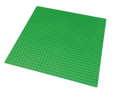 "Genuine LEGO brick-piece +  1 Green 10x10"" Base plate compatible with LEGO 32x32"