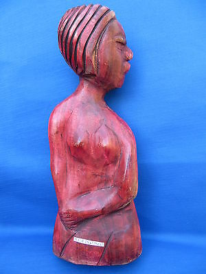 African Ethnic Art Sculpture Carving CONGO REGION  A