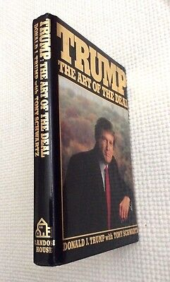 "President Donald Trump Signed ""trump The Art Of The Deal"" Book - Fine Condition"