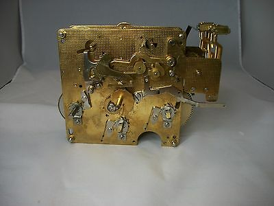 Franz Hermle 1051-030A Triple Chime Wall Clock Movement-Parts Only-Steampunk #48