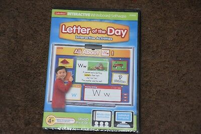 LAKESHORE Interactive Letter of the Day CD Game Grades Pre k  Ages 4+