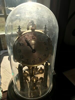 Vintage Brass Schatz Antique Clock