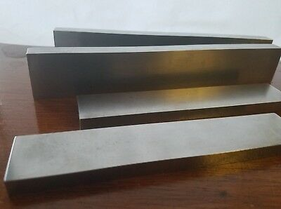 Lot of TAFT PEIRCE PARALLEL  1 1/4 x 1/2 x 8 and 1 1/8 x 5/16 x 6 Made in USA
