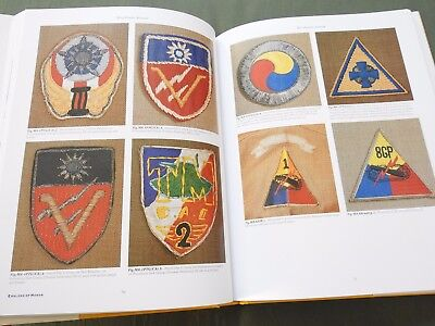 """emblems Of Honor Armor Cavalry Tank Destroyer"" Us Ww1 Ww2 Patch Reference Book"