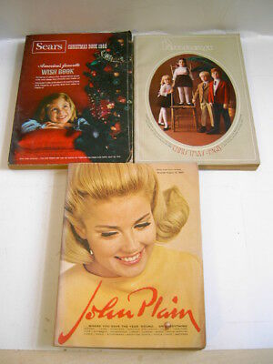 3 OLD 1968-69 CHRISTMAS STORE CATALOGS for 1 bid