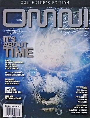 Omni Magazine Collector's Edition Science Technology And Future Winter 2017 NEW