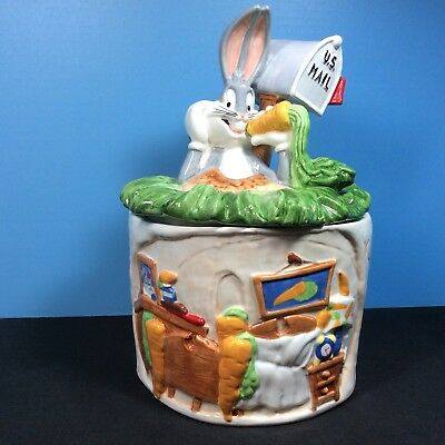 Warner Bros Bugs Bunny Cookie Jar Vintage