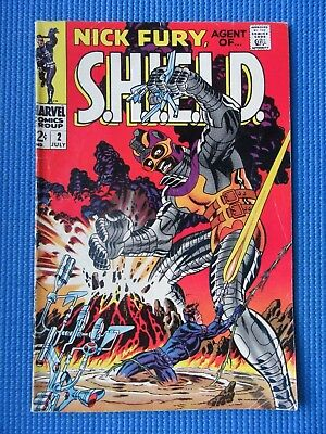 Nick Fury, Agent Of Shield # 2 - (Fn-) - Steranko - The Fun House